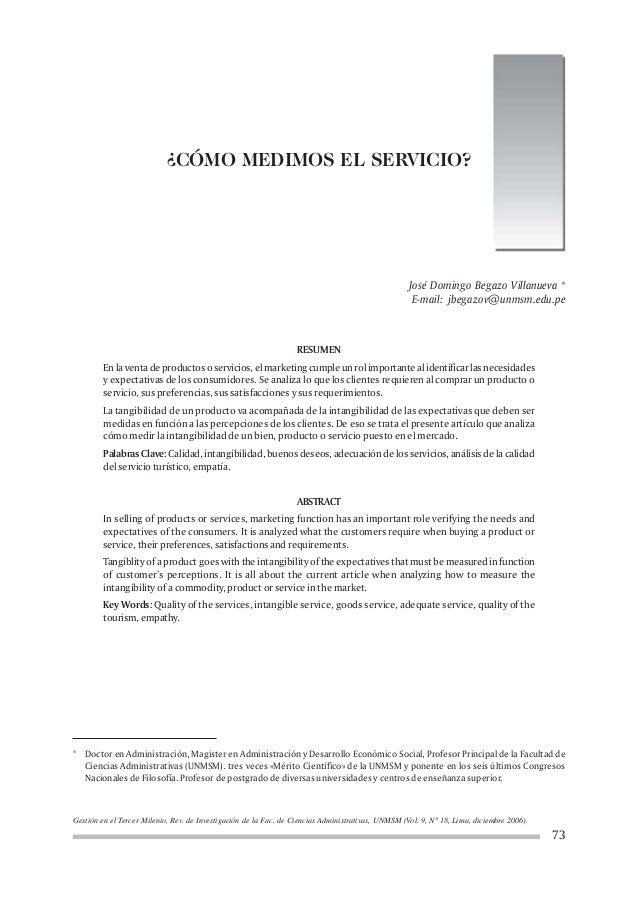Gestión en el Tercer Milenio, Rev. de Investigación de la Fac. de Ciencias Administrativas, UNMSM (Vol. 9, Nº 18, Lima, di...