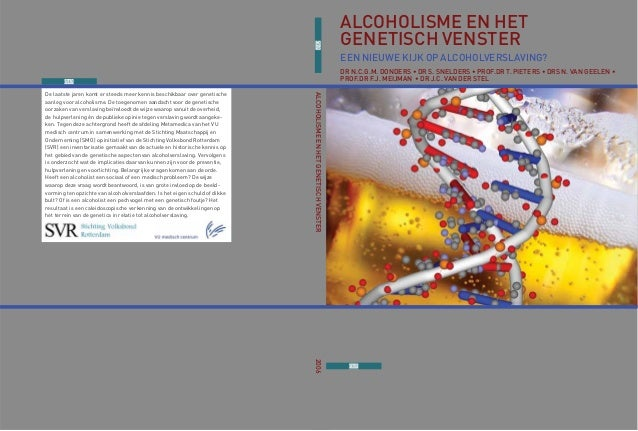 De laatste jaren komt er steeds meer kennis beschikbaar over genetische aanleg voor alcoholisme. De toegenomen aandacht vo...