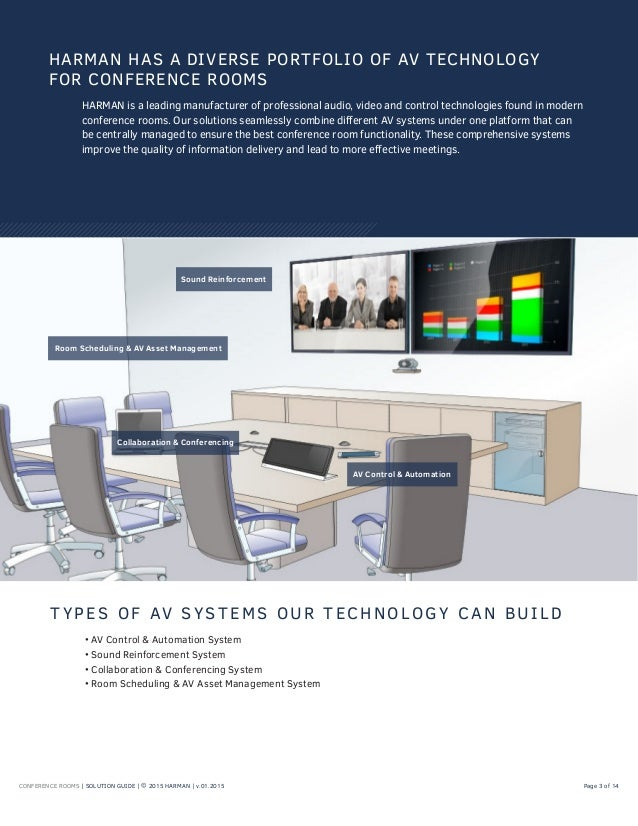 Exceptional CONFERENCE ROOMS | SOLUTION GUIDE ... Part 28