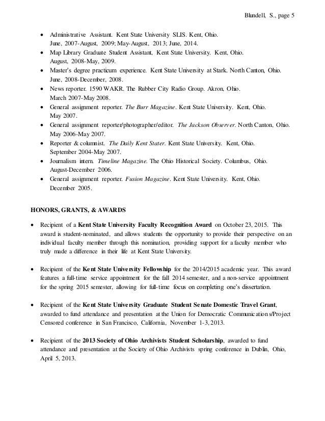 blundell curriculum vitae 1 6 2016 linkedin