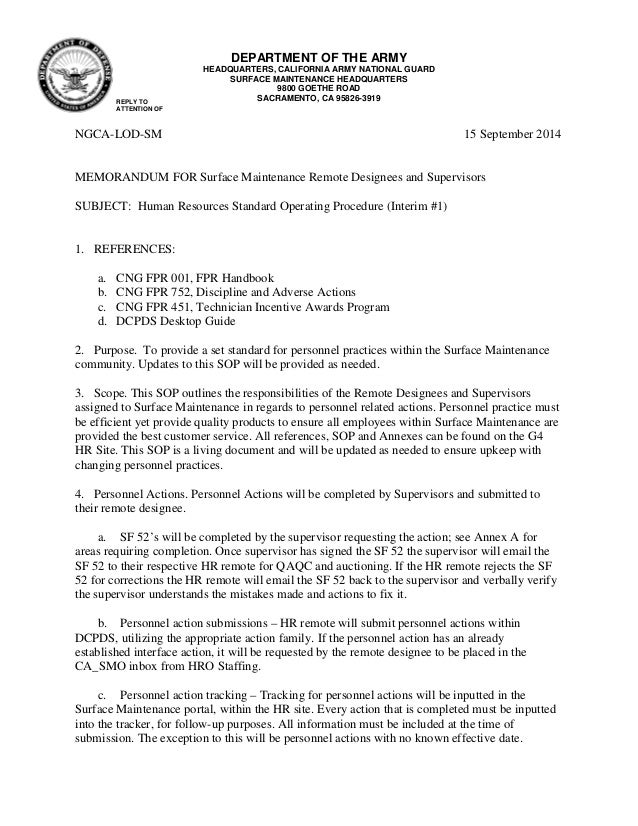 army memorandum for record template pdf fillable