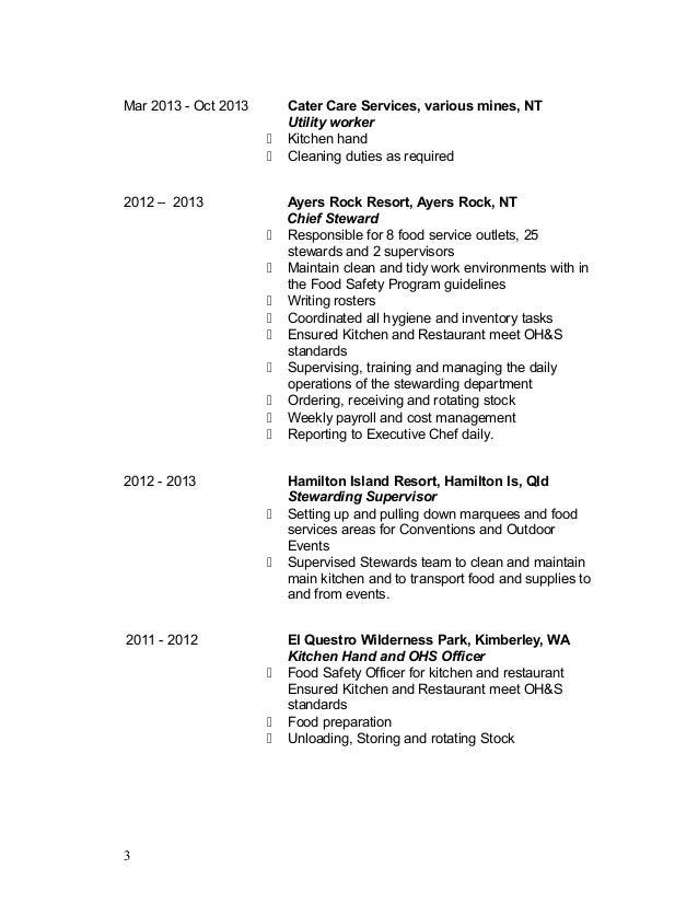 Resume Hotel Steward Kitchen Steward Resume Sample X Sample Top Finance And  Administration Manager Resume Samples