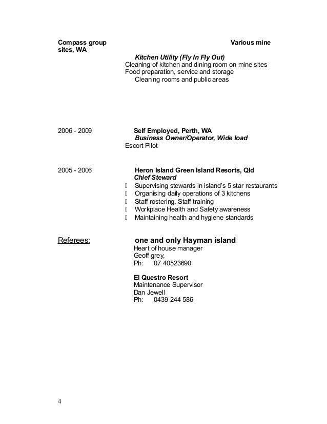Resume Samples For Steward Position Professional Executive Steward Resume  Sample VisualCV