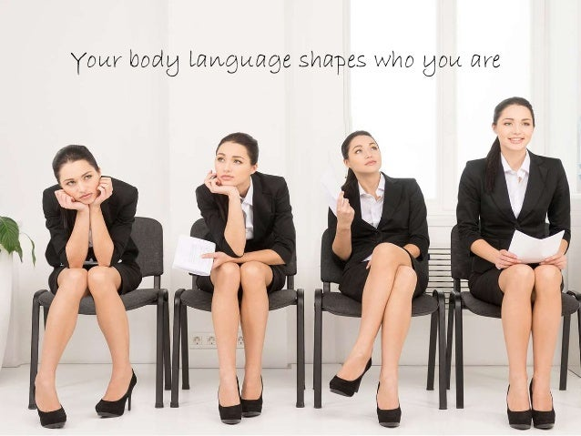 Amy cuddy your body language