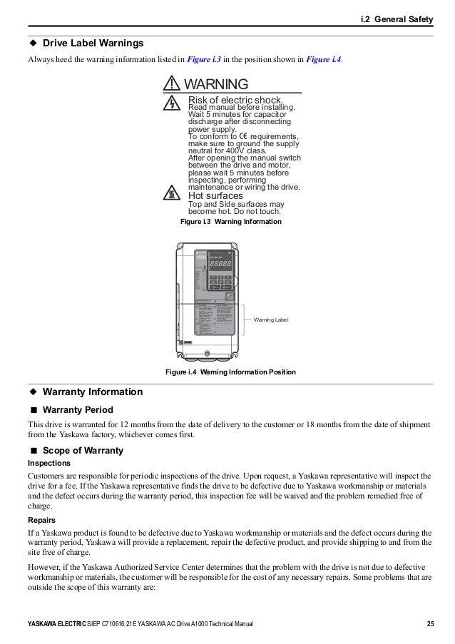 yaskawa a1000 technical manual pdf