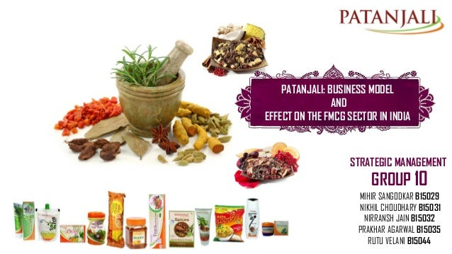 patanjali business model Business model the indian fmcg sector was mostly dominated by mnc players like hindustan unilever limited (hul) and procter & gamble (p&g) (refer to exhibit-i for the list of major fmcg companies in india.