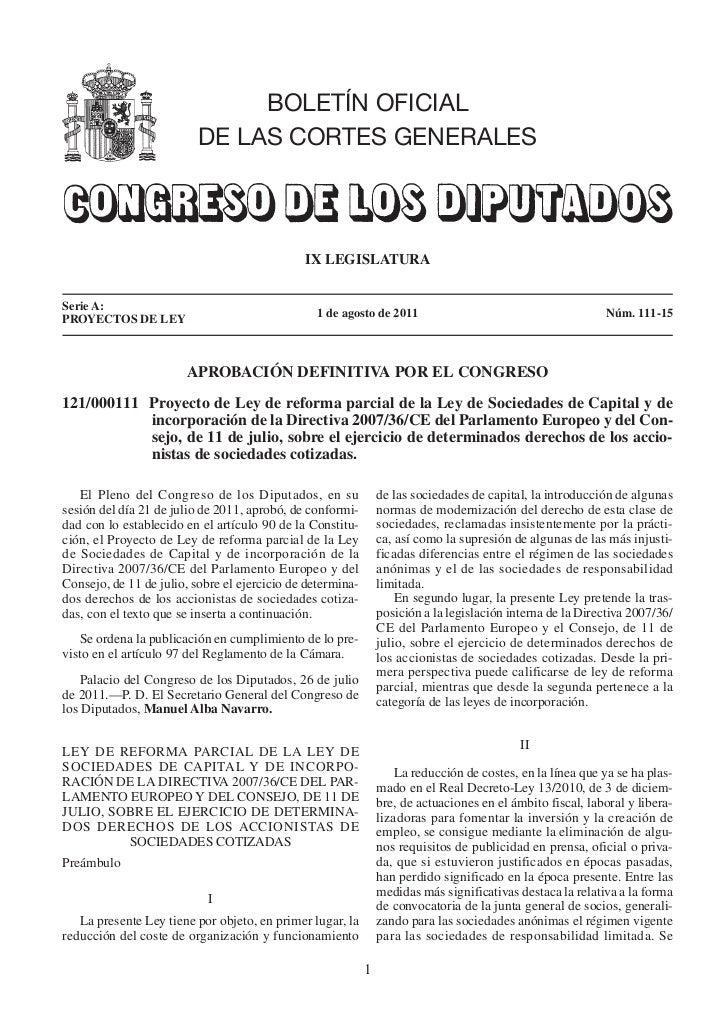 BOLETÍN OFICIAL                          DE LAS CORTES GENERALES                                              IX LEGISLATU...