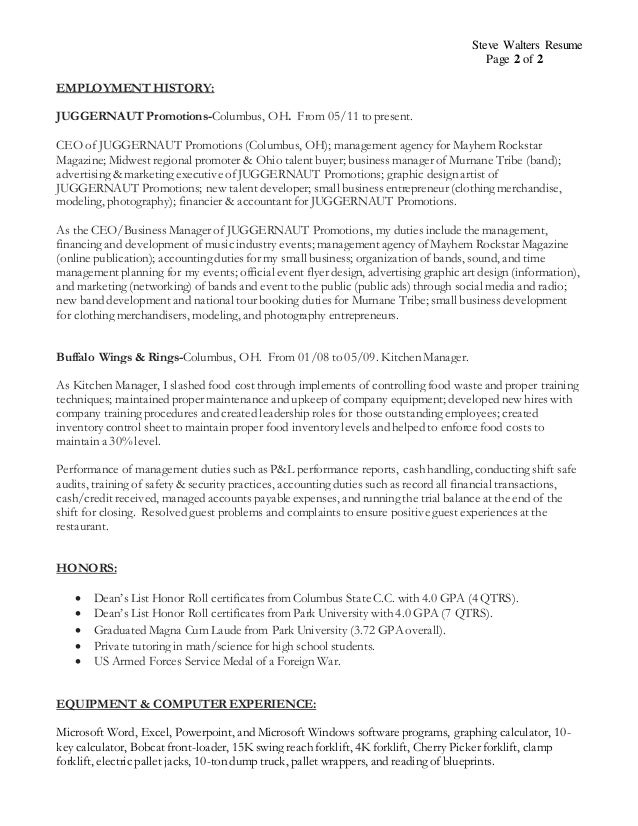 Unique Columbus Accounting Resume Ideas - Best Resume Examples by ...