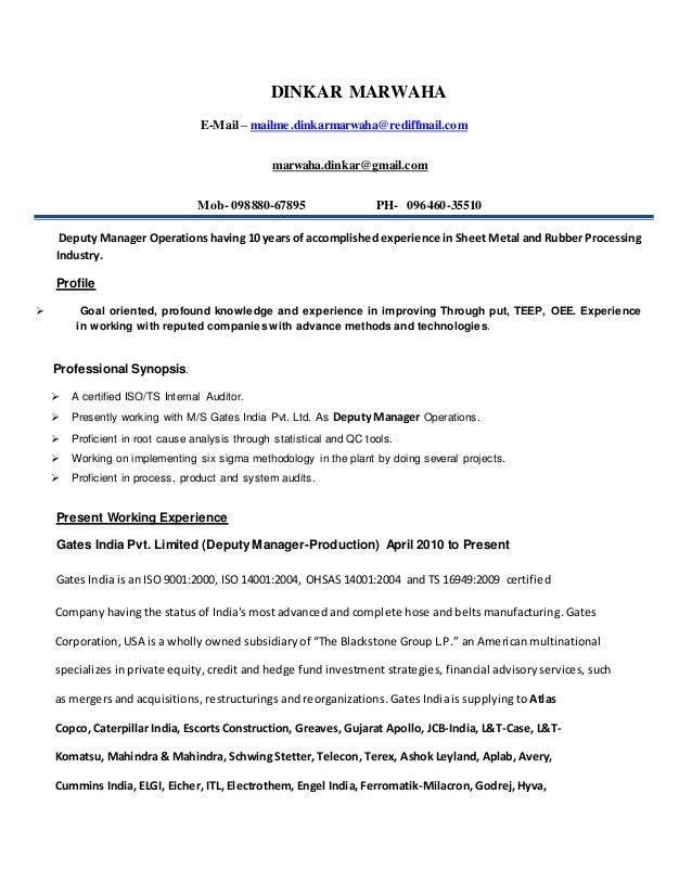Certified Internal Auditor Sample Resume] Resume, Example ...