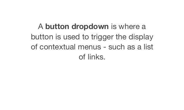 Creating an Accessible button dropdown