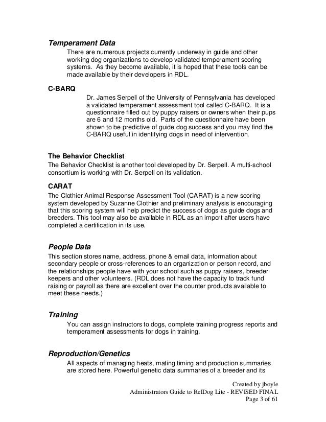 Administrators Guide to RelDog Lite - FINAL Slide 3