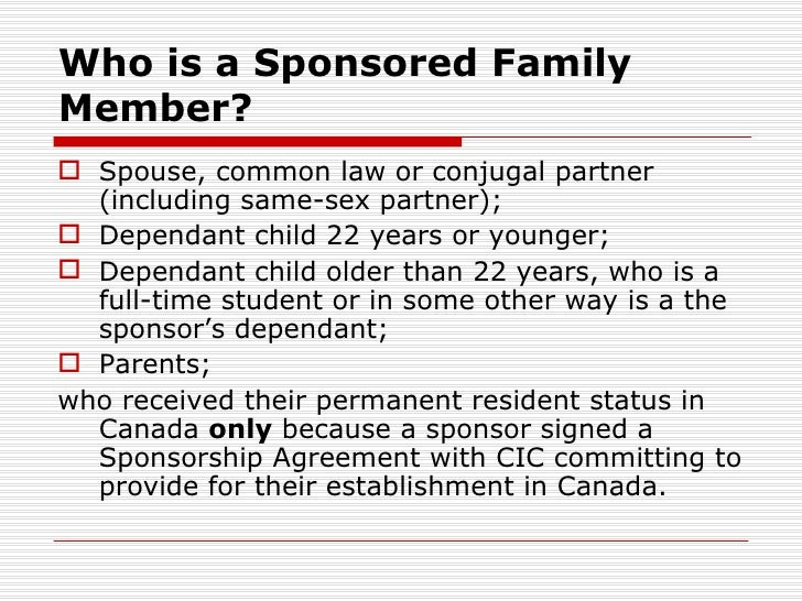 how to sponsor a relative to live in usa