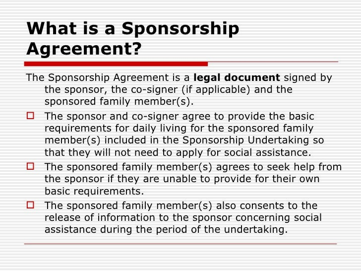 A12 Sponsorship BreakdownFrancisco RicoMartinez – Sponsor Agreement