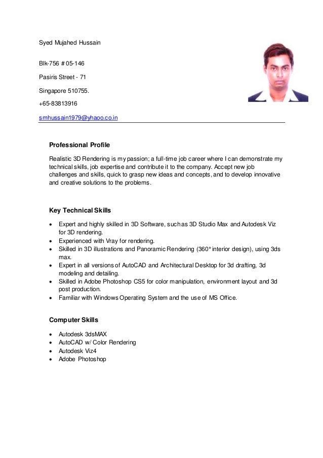 syed resume