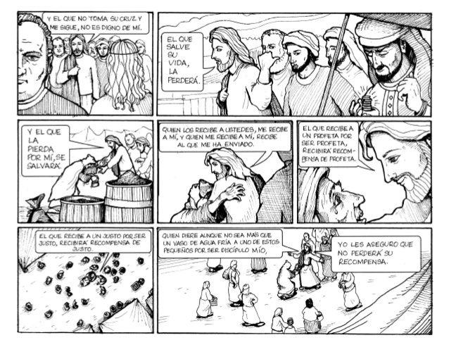 Evangelio ilustrado 13o. Domingo tiempo ordinario Ciclo A