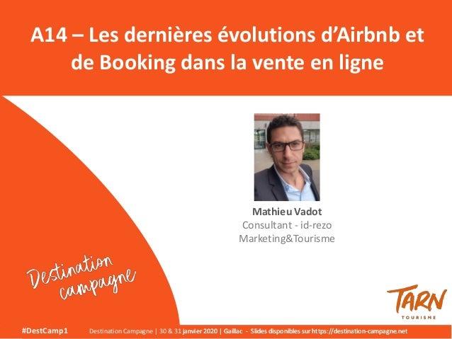 #DestCamp1 Destination Campagne   30 & 31 janvier 2020   Gaillac - Slides disponibles sur https://destination-campagne.net...