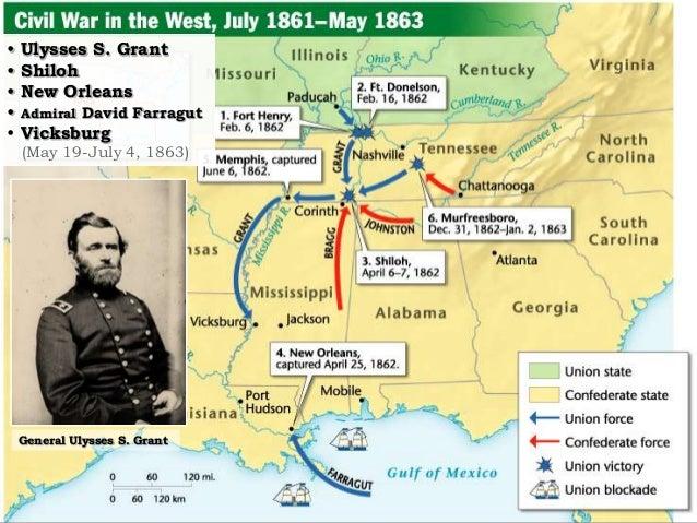 Civil War In The West General Ulysses S Grant