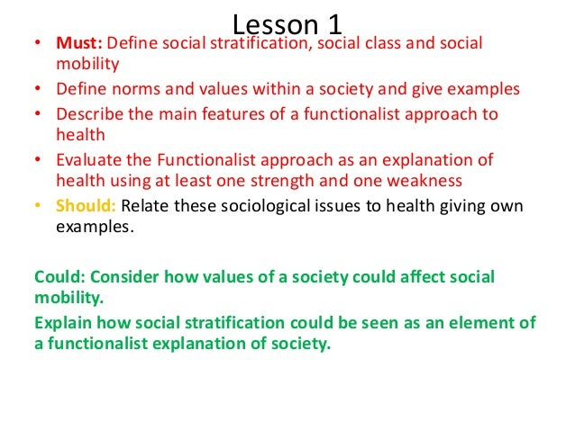 social stratification definition
