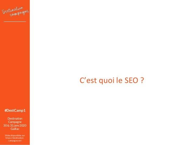 A16 – Gagner en visibilité sur Google avec le cocon sémantique Slide 2