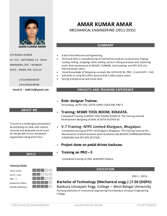 my resume with s manufacturing and designing skills compressed