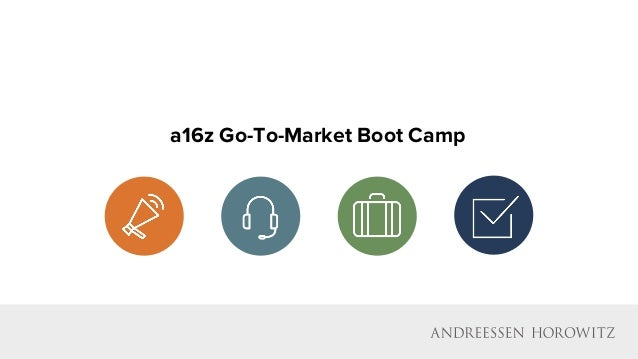 a16z Go-To-Market Boot Camp
