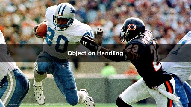 Objection Handling © 2015 - Andreessen Horowitz | Proprietary & confidential, all rights reserved worldwide.