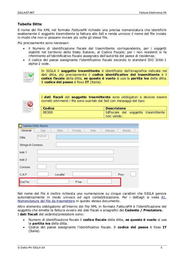 Fatturazione elettronica pa per sigla for Codice univoco per fatturazione elettronica
