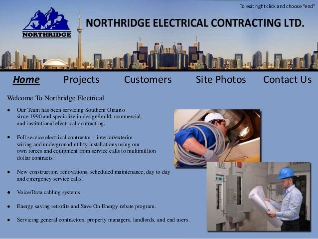 Our Team has been servicing Southern Ontario since 1990 and specialize in design/build, commercial, and institutional elec...