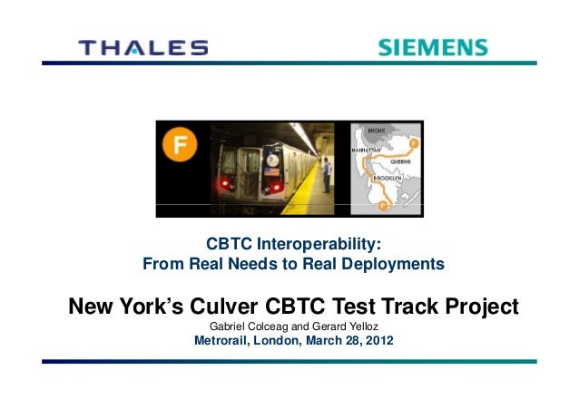 Culver Test Track