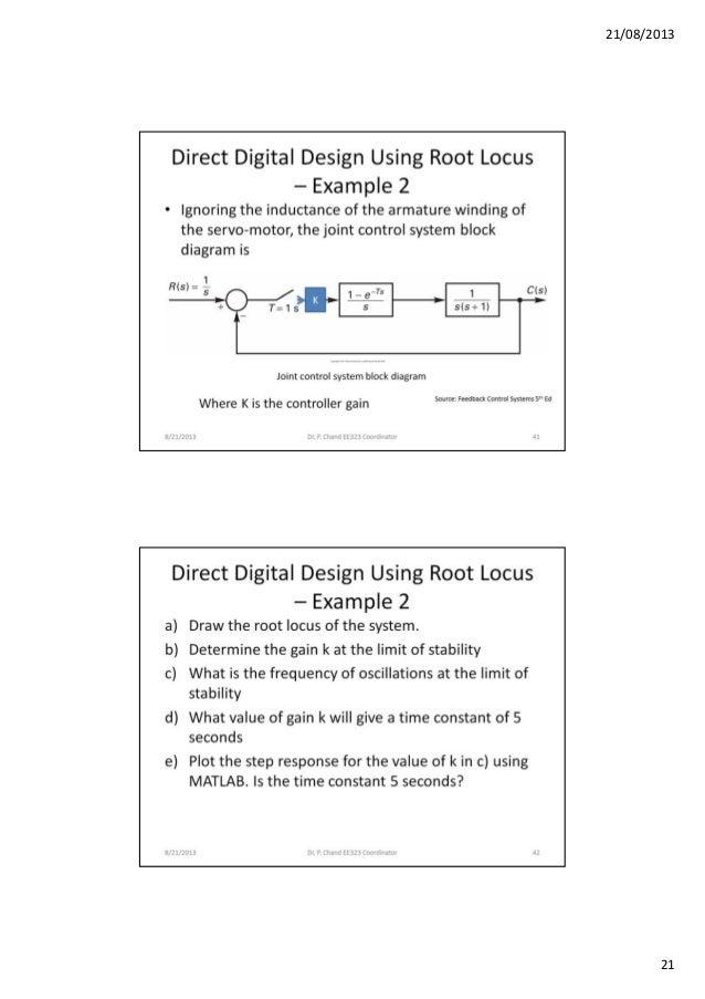 Direct Digital Design