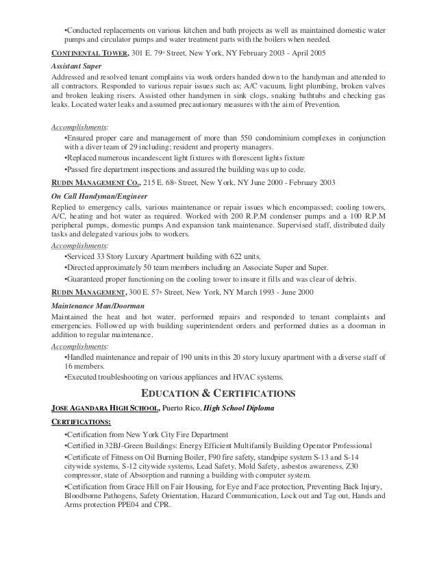 Sample Resume Electrician Resume Sle In Word Format Resume – Handyman Resume