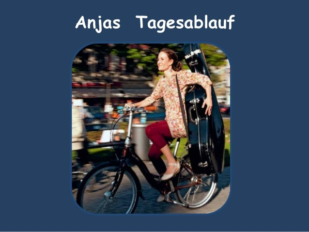 Anjas Tagesablauf