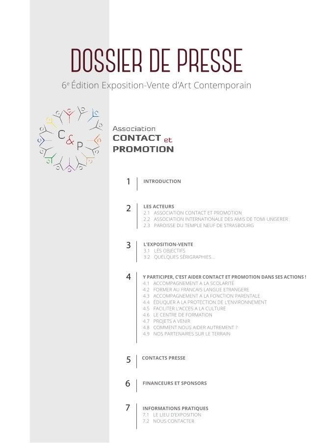 Dossier Presse Expo-Vente 2015 C&P Slide 2