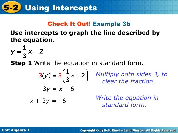 Write The Standard Form Of The Equation Of Each Line Dolap