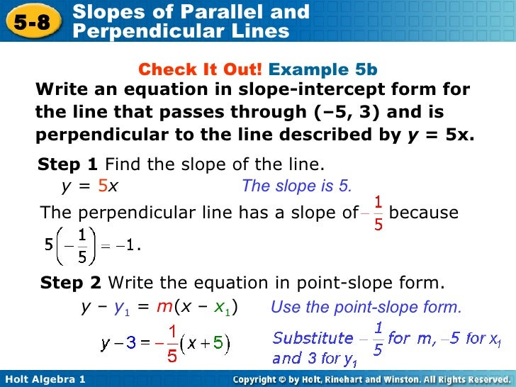 parallel examples writing a check