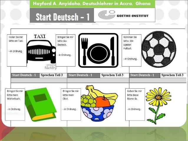 start deutsch a1 exam sprechen teil 3