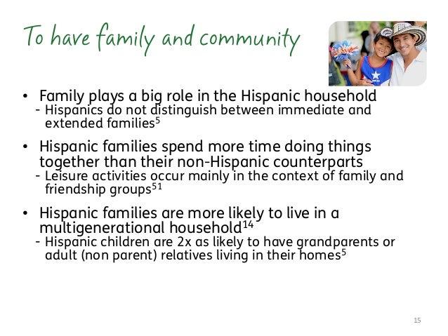 hispanic family activities. Communication; 15. \u2022 Family Hispanic Activities