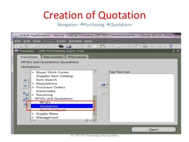 Oracle Scm Purchasing R