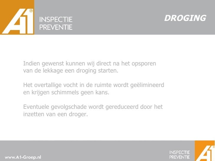 A1 Inspectie & Preventie B.V.