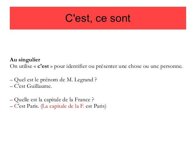 Pytanie o język #4 - C'est czy ce sont? - teoria 1 - Francuski przy kawie
