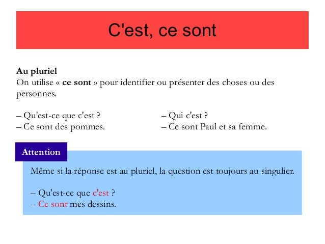 Pytanie o język #4 - C'est czy ce sont? - teoria 2 - Francuski przy kawie