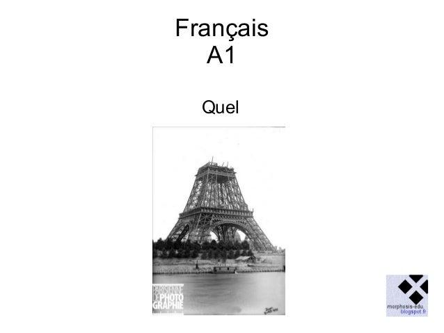 Français A1 Quel