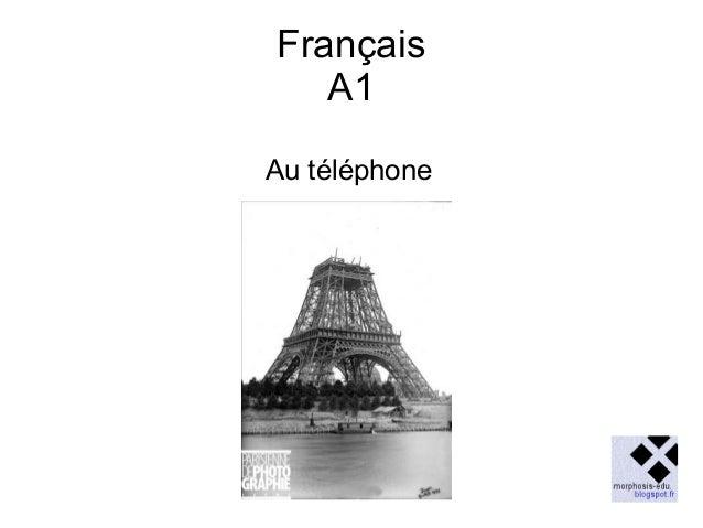 Français A1 Au téléphone