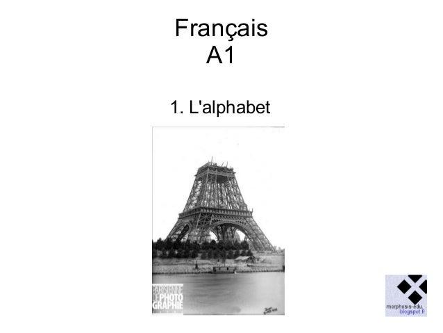 Français A1 1. L'alphabet
