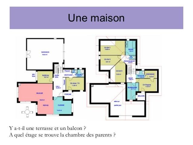 A1 Lecon 23 La Maison Prepositions