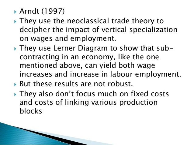 Global Production Sharing: Patterns, Determinants and Macroeconomic i…