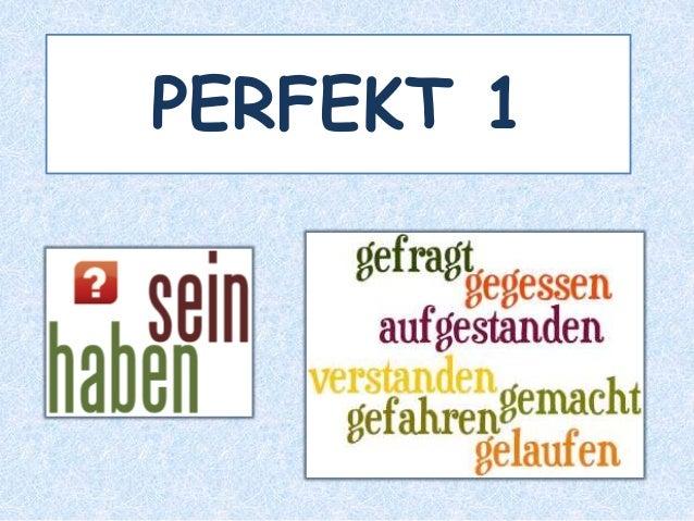 PERFEKT 1