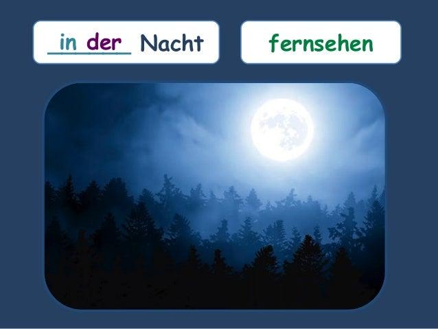 ______ Nachtin der fernsehen