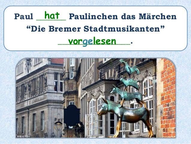 Das ist Paulinchens Lieblingsmärchen! Es ist ein Märchen von den Brüdern Grimm.