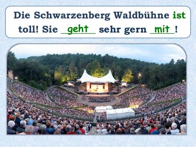 Die Schwarzenberg Waldbühne ______ toll!war